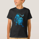 Leo the Constellation Kid's Black T-Shirt