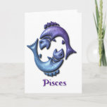 Pisces Sign Greeting Card