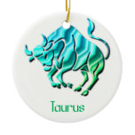 Taurus Sign Ornament